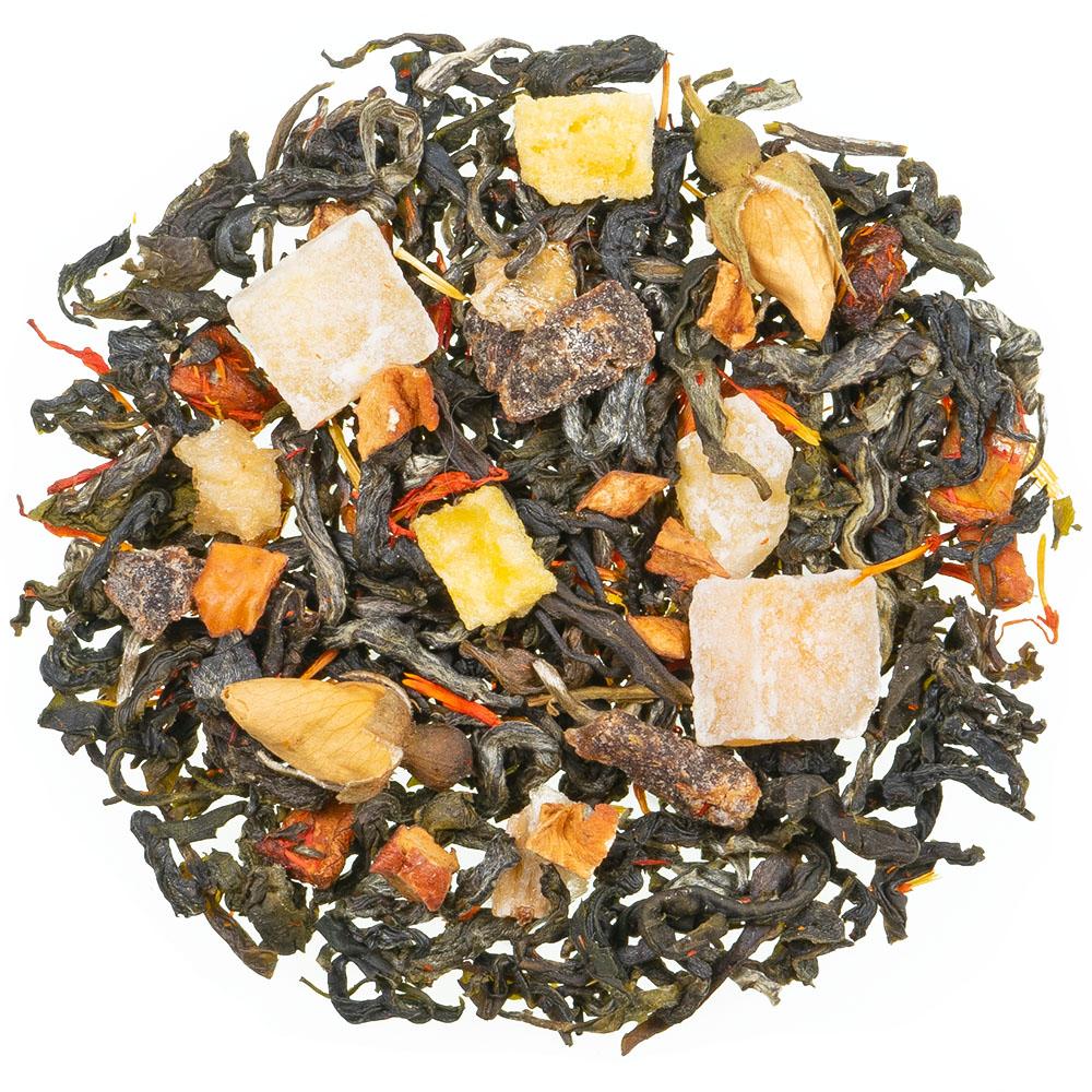 Blüte des Drachenkaisers Grüner Tee natürlich