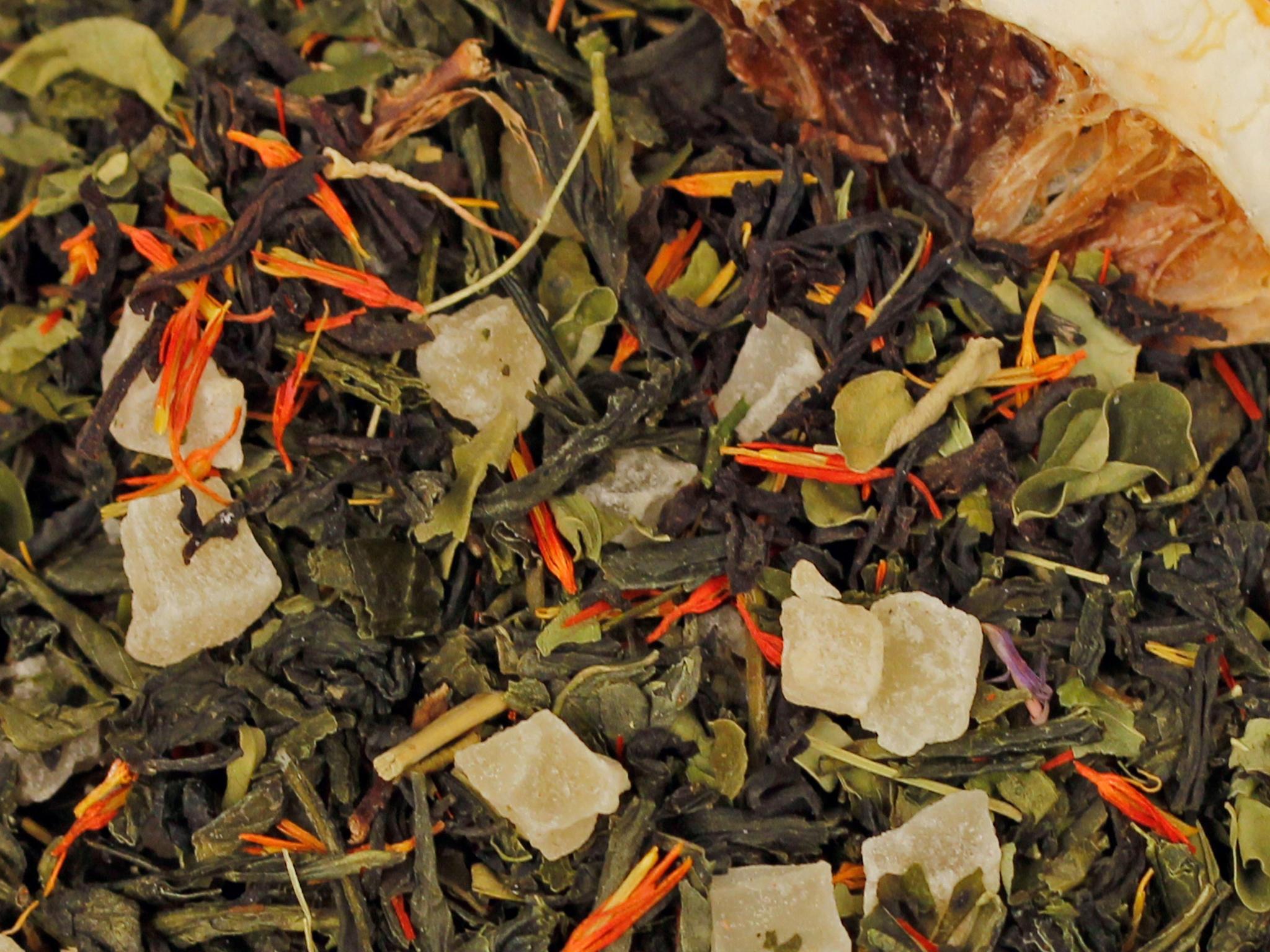 Exotic Smoothie natürlich, Grüner Tee