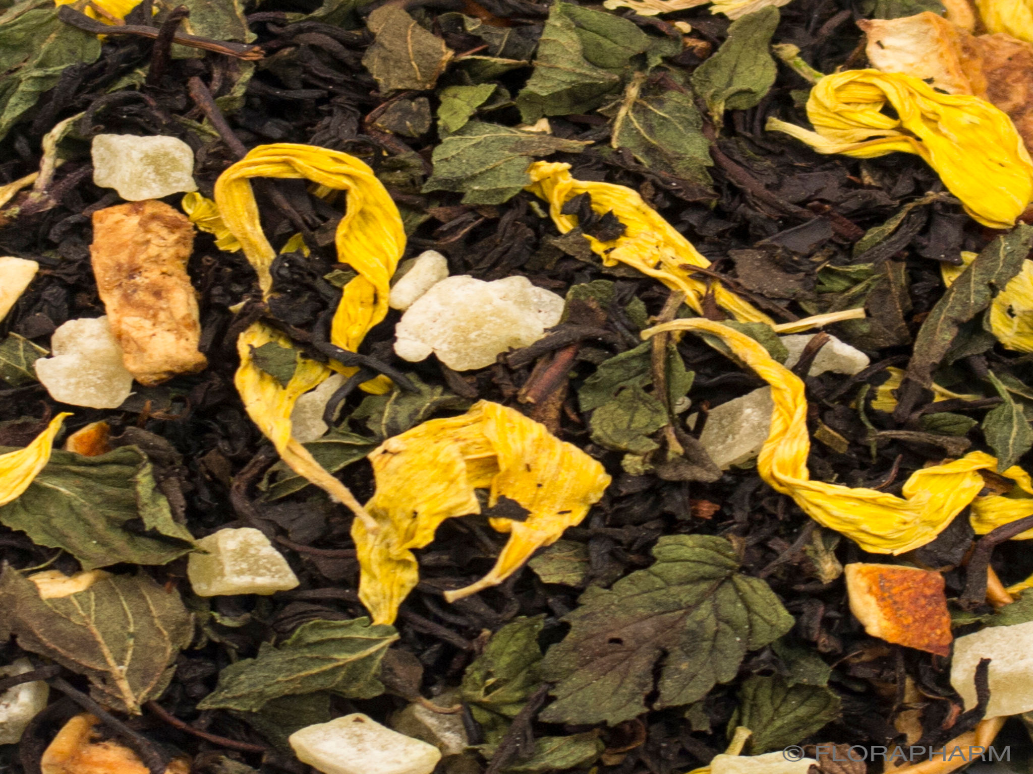 Mojito Mint natürlich, Schwarzer Tee