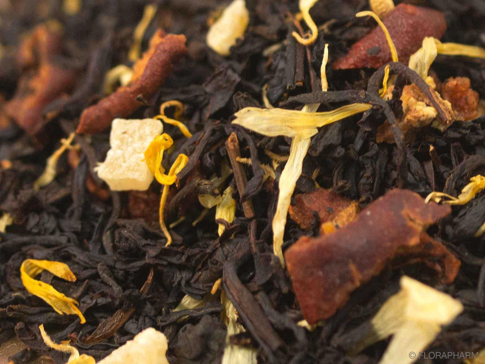 Birne Karamell, Schwarzer Tee