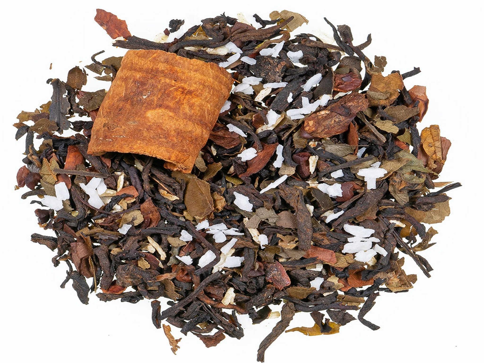 Guayusa Kakao, schwarzer Tee