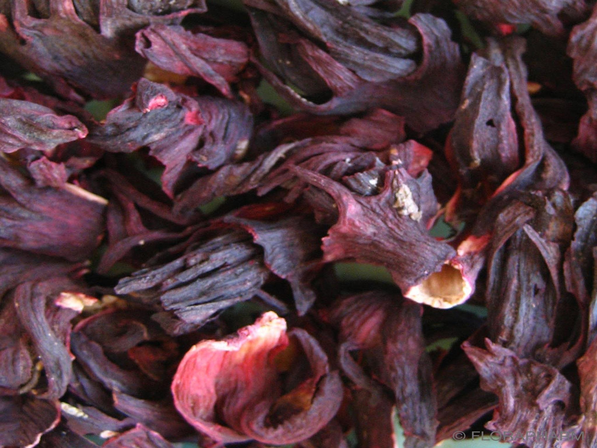 Hibiskusblüten ganz ohne Aroma