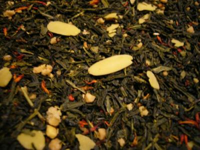 Sencha Mandel Honig Grüner Tee