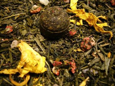 Die Acht Schätze des Shaolin® Grüner Tee