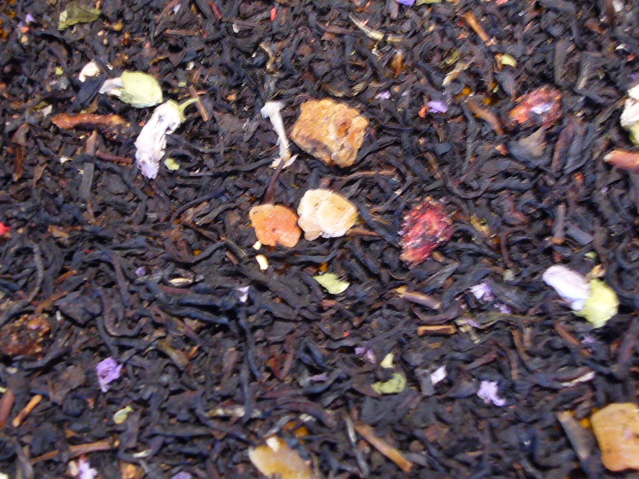 Granatapfel Birne Schwarzer Tee