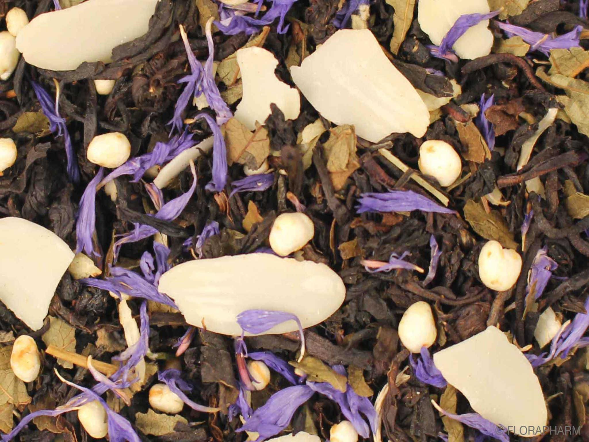 Mandel Quinoa, Schwarzer Tee