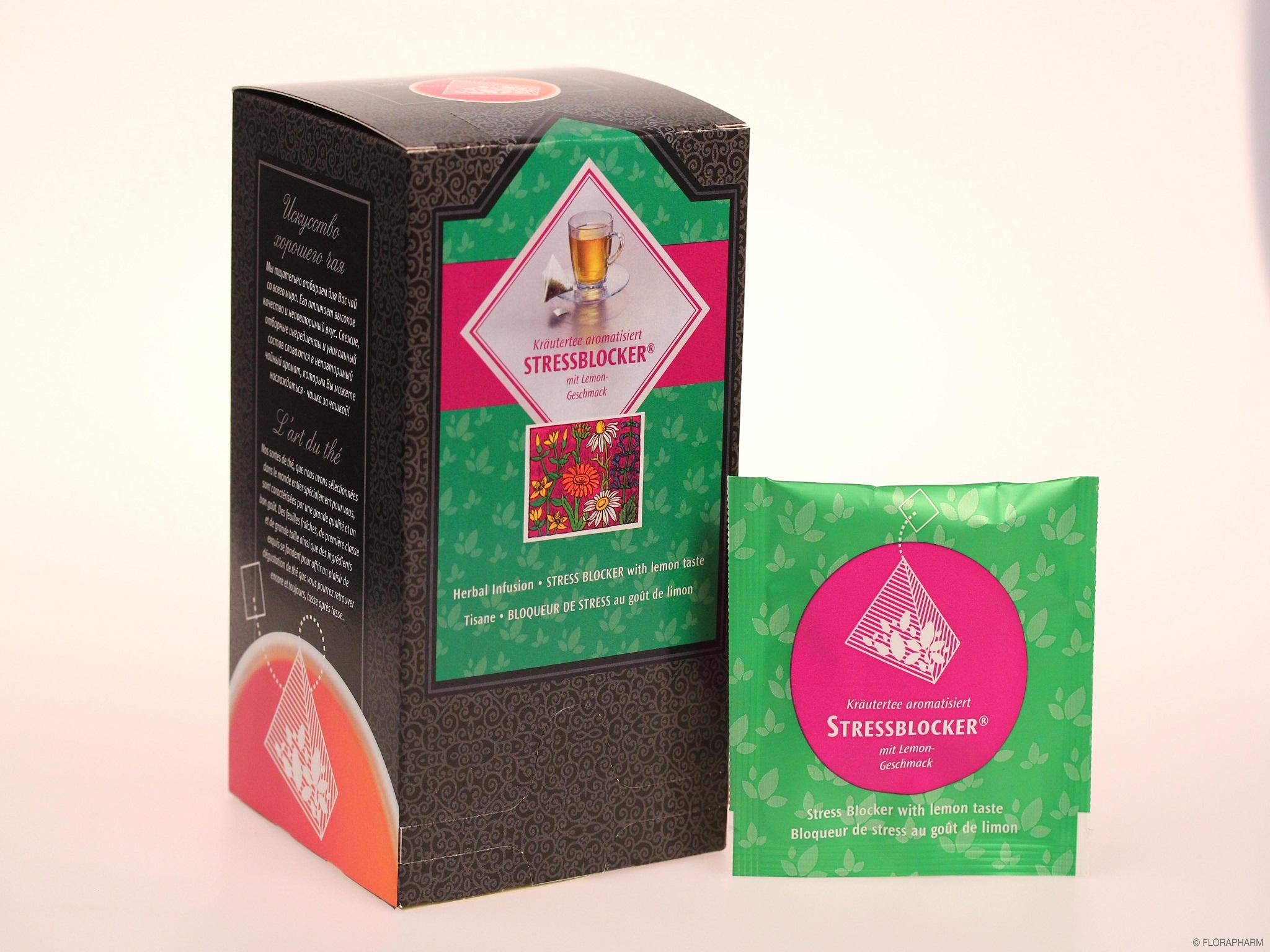 Tee-Pyramidenbeutel Stressblocker®  Kräutertee