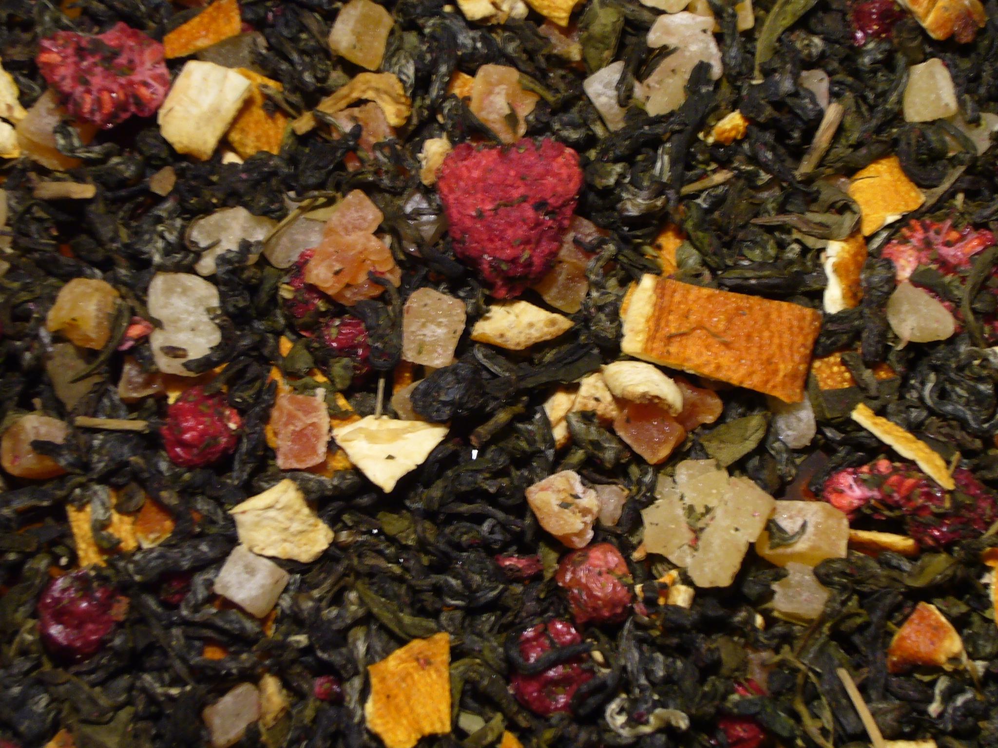Baba´s Hexenschmaus, grüner Tee