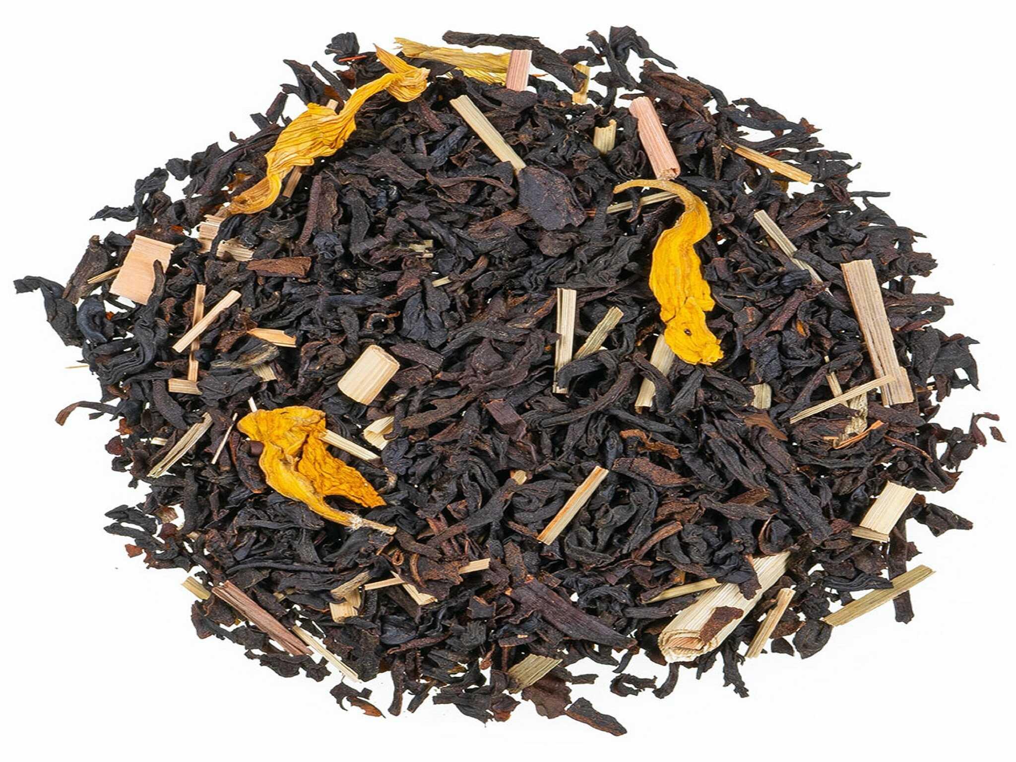 Crema Catalana, schwarzer Tee