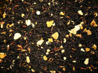 Blutorange Schwarzer Tee