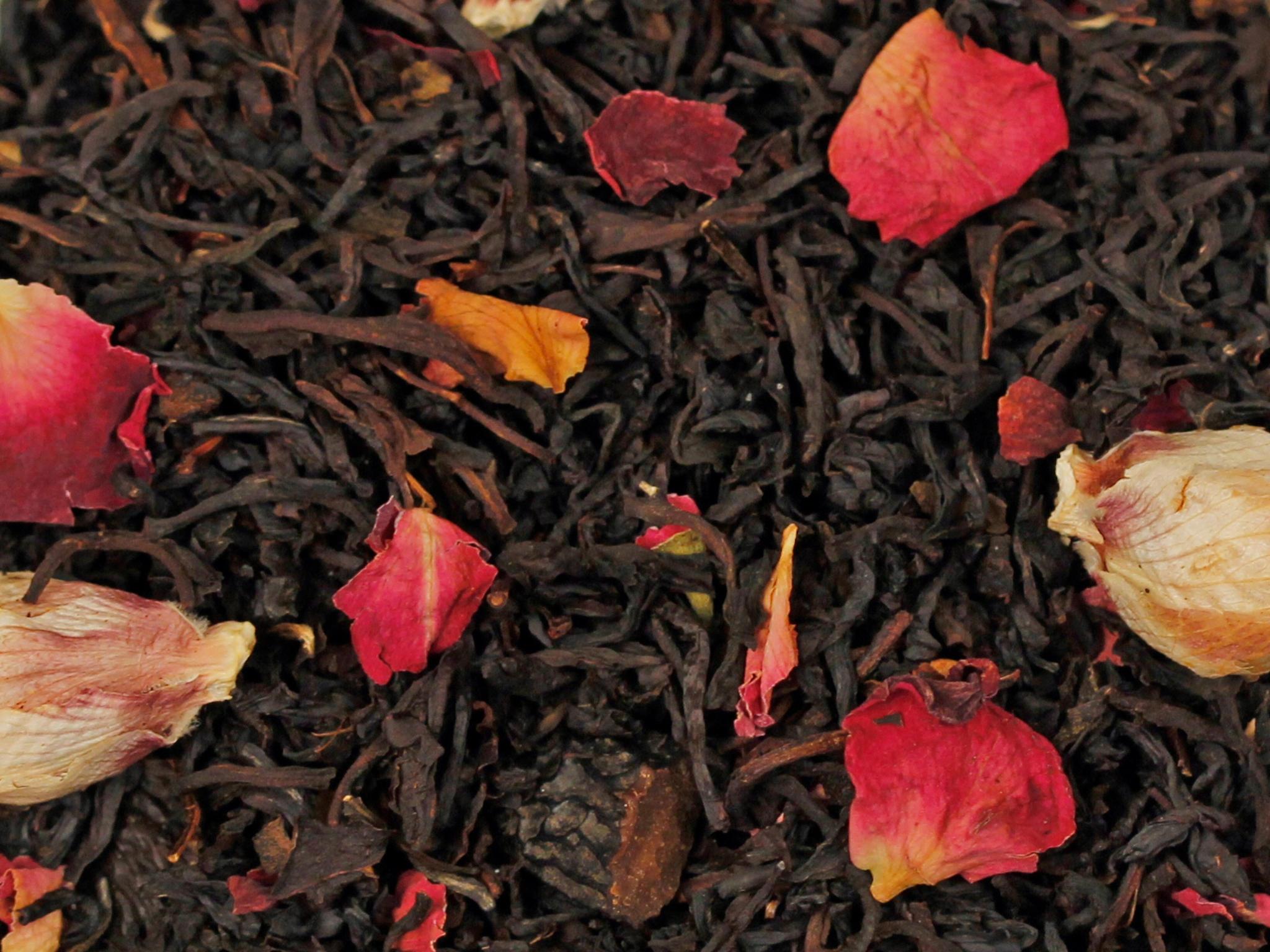 Tonkabohne natürlich, Schwarzer Tee