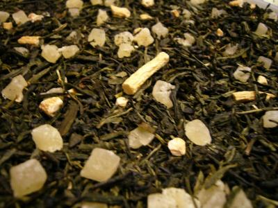 Ginsi mit Ananas Grüner Tee