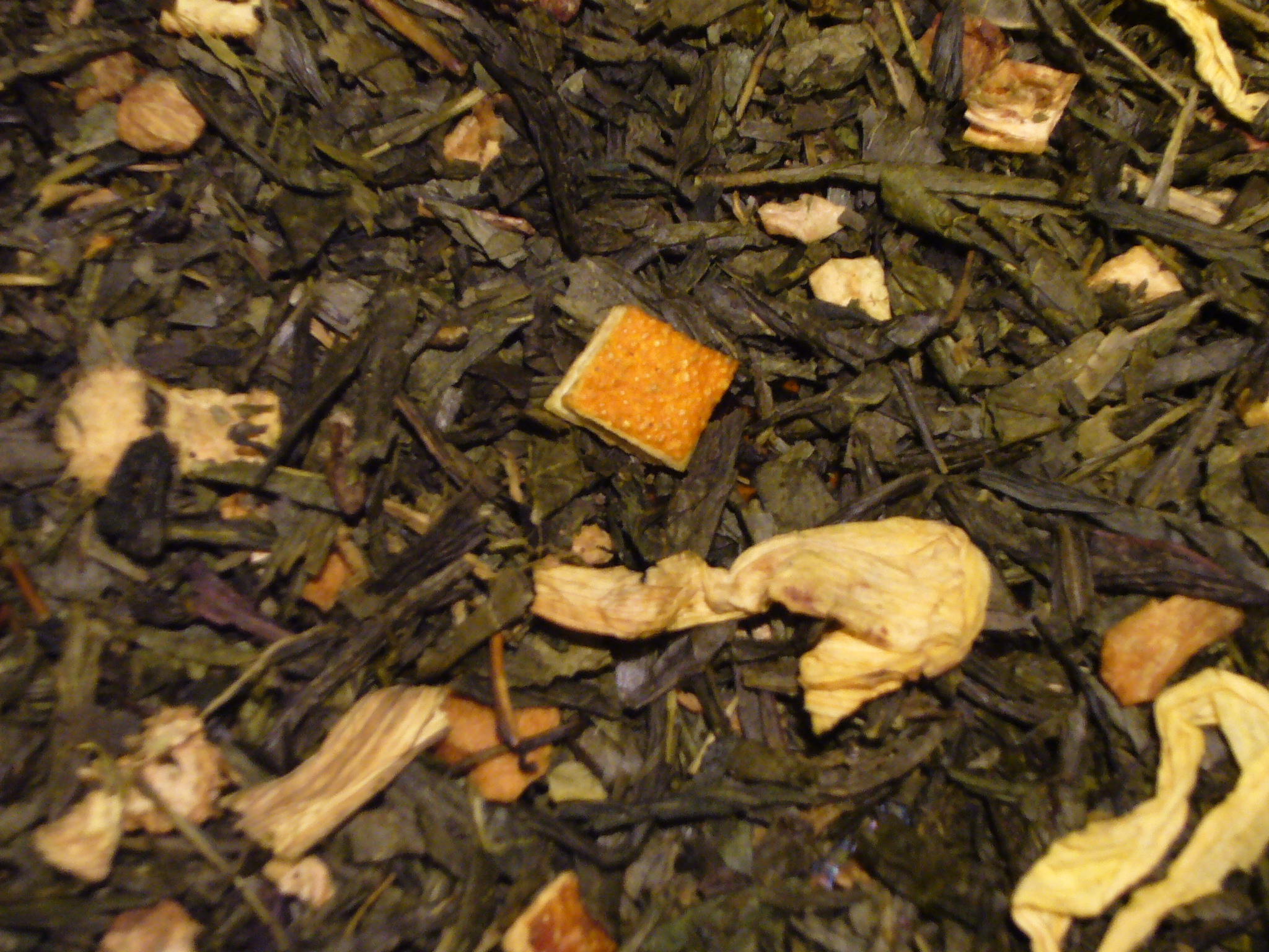 Ingwer Zitrone natürlich, Grüner Tee