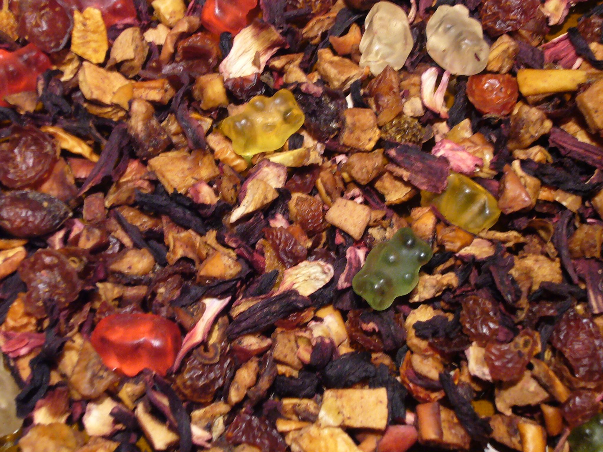 Gummibärchentraum Früchtetee