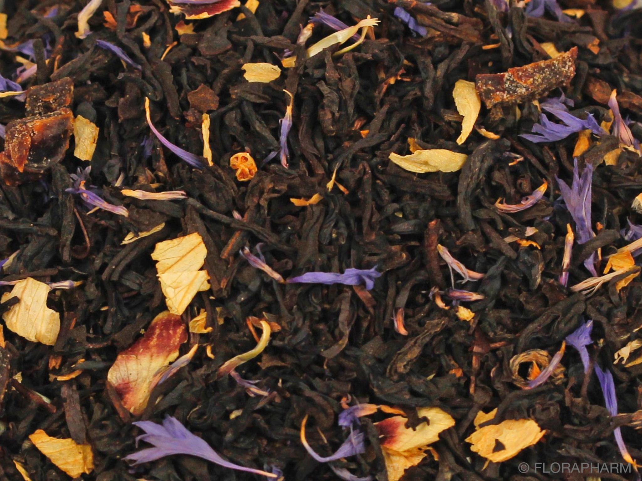 Pflaume Schwarzer Tee