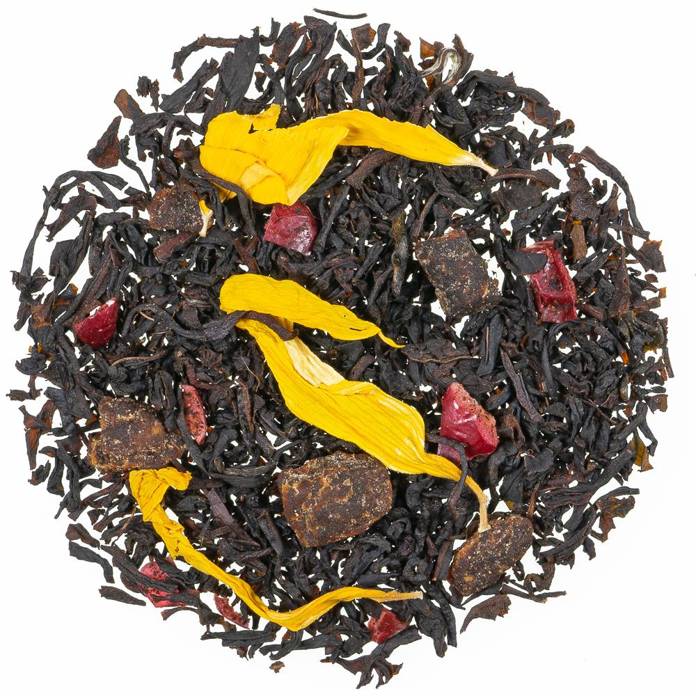 Cranberry Pfirsich Schwarzer Tee
