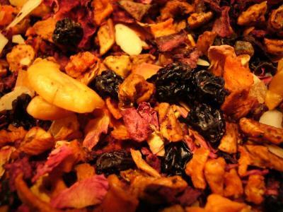 Pflaume Marzipan, milder Früchtetee