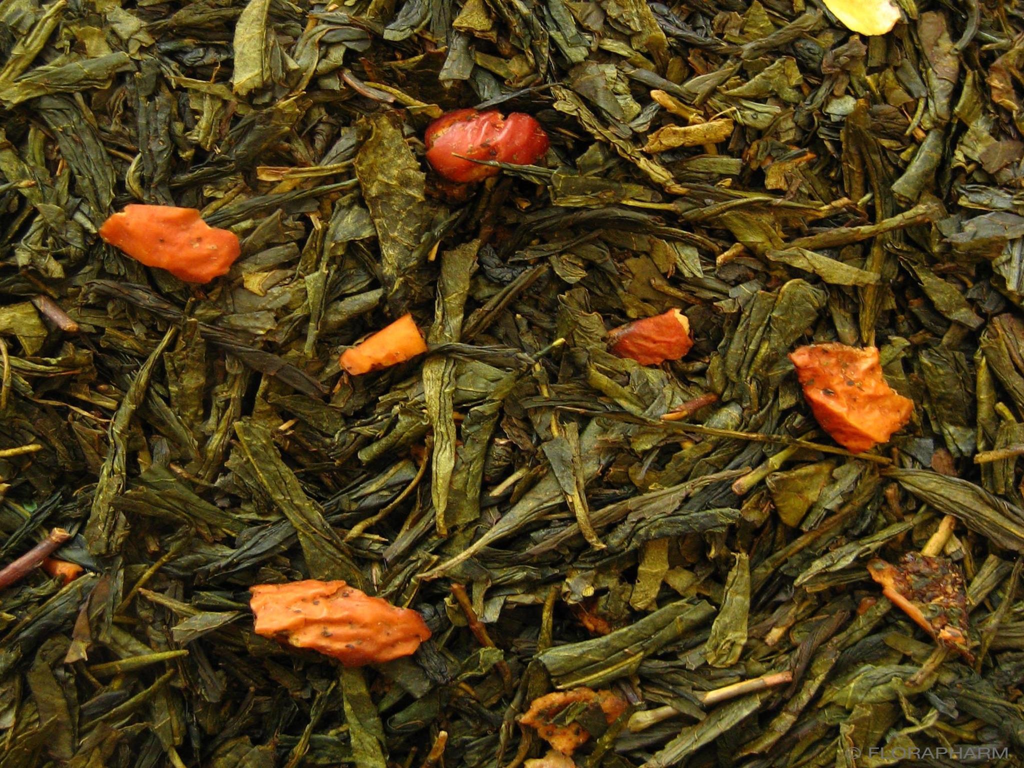Bratäpfelchen Grüner Tee