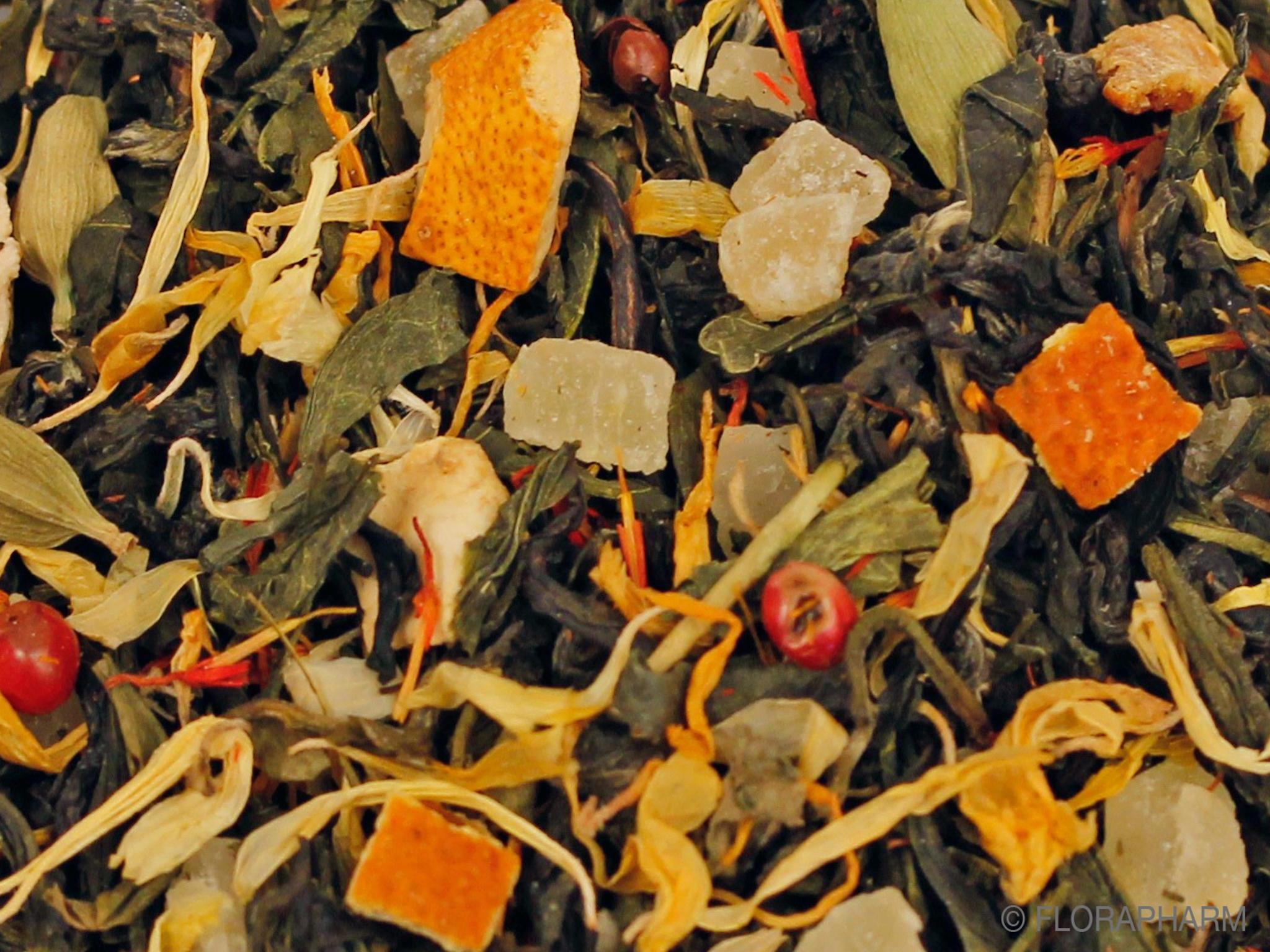 Himmlische Verführung natürlich, Grüner Tee