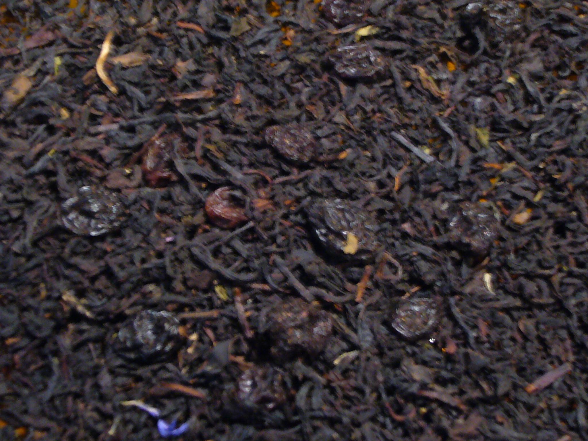 Rum Vanille Weinbeeren Schwarzer Tee