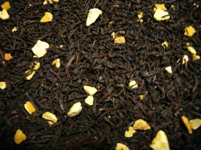 Orangen Schwarzer Tee